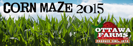 Ottawa Farms Corn Maze pumpkin patch Savannah 2015 Bloomingdale