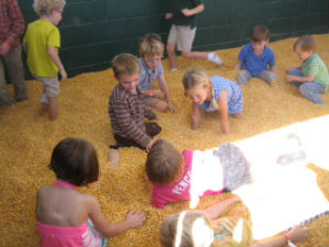 Ottawa Farm Corn Crib Savannah