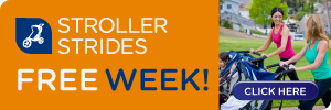 Free Week FIT4MOM savannah Stroller Strides