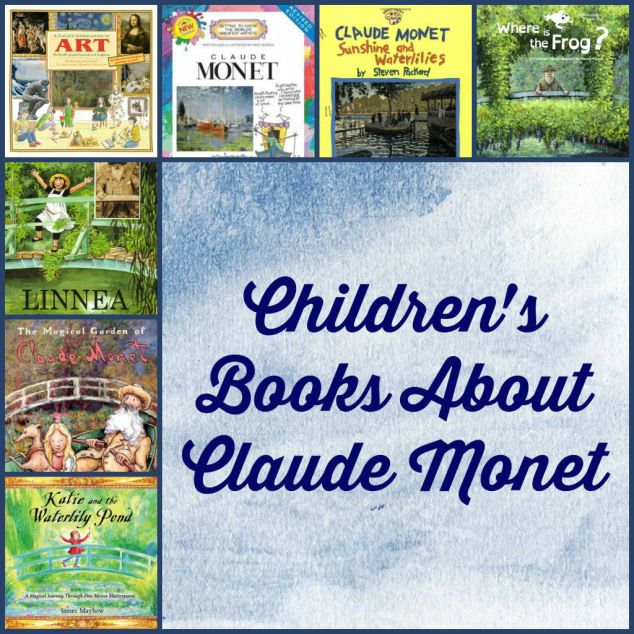 Children's books Monet Savannah Telfair Museums