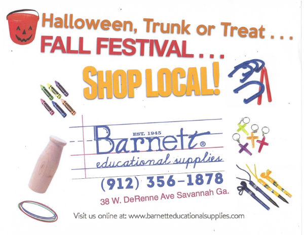 Halloween decorations Barnett Educational Supplies Savannah