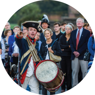 Thanksgiving demos, interactive program Savannah Old Fort Jackson