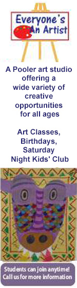 Art studio Pooler birthday parties kids art classes Everyone's An Artist