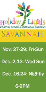 Coastal Georgia Botanical Gardens Holiday Lights 2015