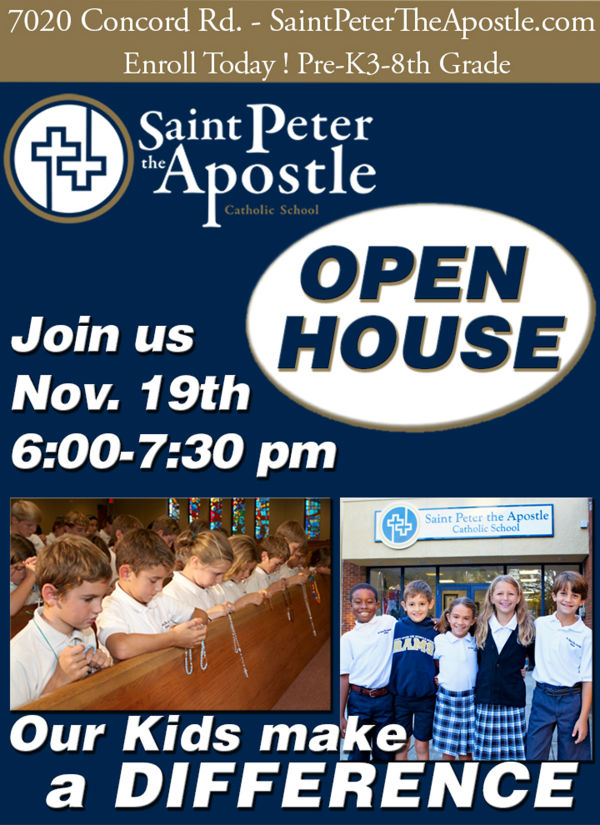 open house NOV flyer