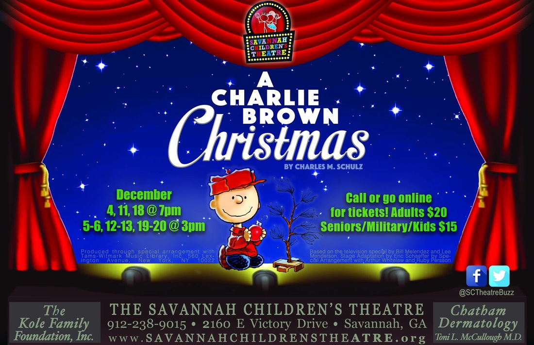a charlie brown christmas savannah childrens theatre