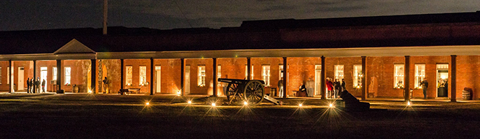 Fort pulaski candlelight tour Savannah