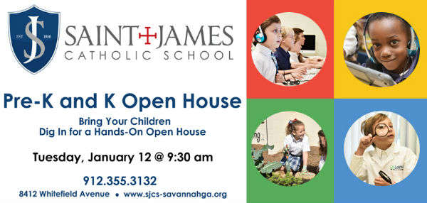 Savannah schools open houses 2016 St. James Catholic School