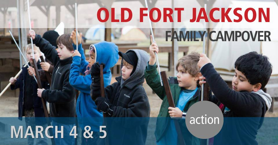 Old Fort Jackson Family Campover