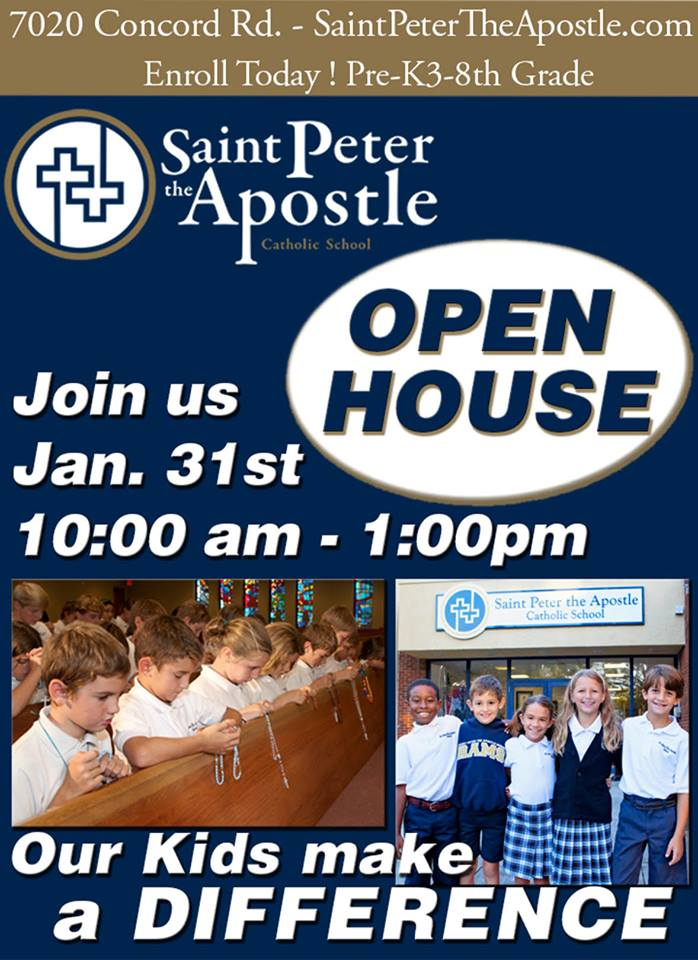 Savannah private schools St. Peter the Apostle Catholic School wilmington Island