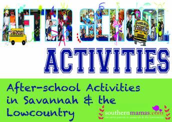 after-school, weekend classes programs sports for kids Savannah