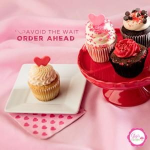 Gigi's Cupcakes valentine's Savannah