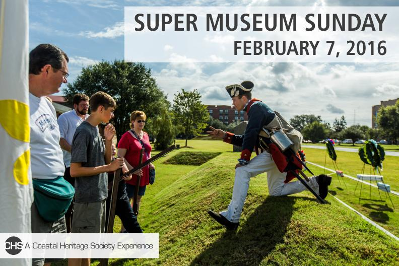 FREE events Savannah Super Museum Sunday 2016