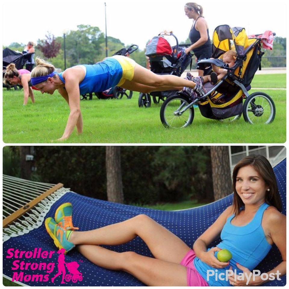 Stroller Strong Moms of Savannah Claudia Deen
