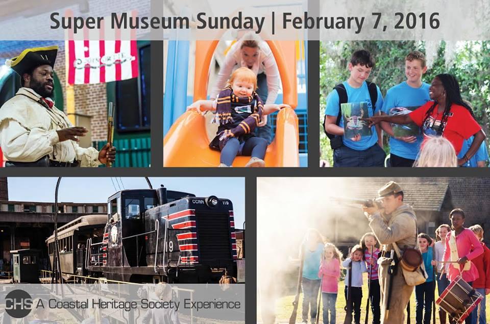 Free museum admission Super Museum Sunday Coastal Heritage Society