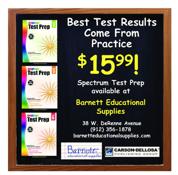 test prep workbooks Savannah Barnett