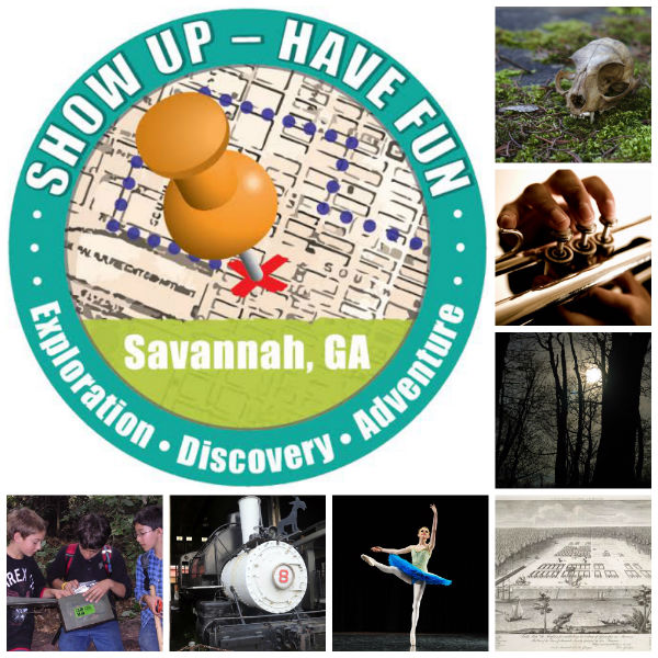 Homeschool March Field Trips Show Up. Have Fun. Savannah