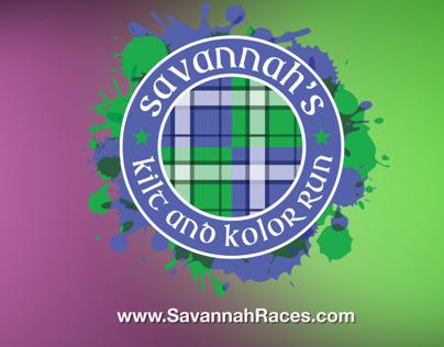 Kilt and Kolor Run Savannah LDSS