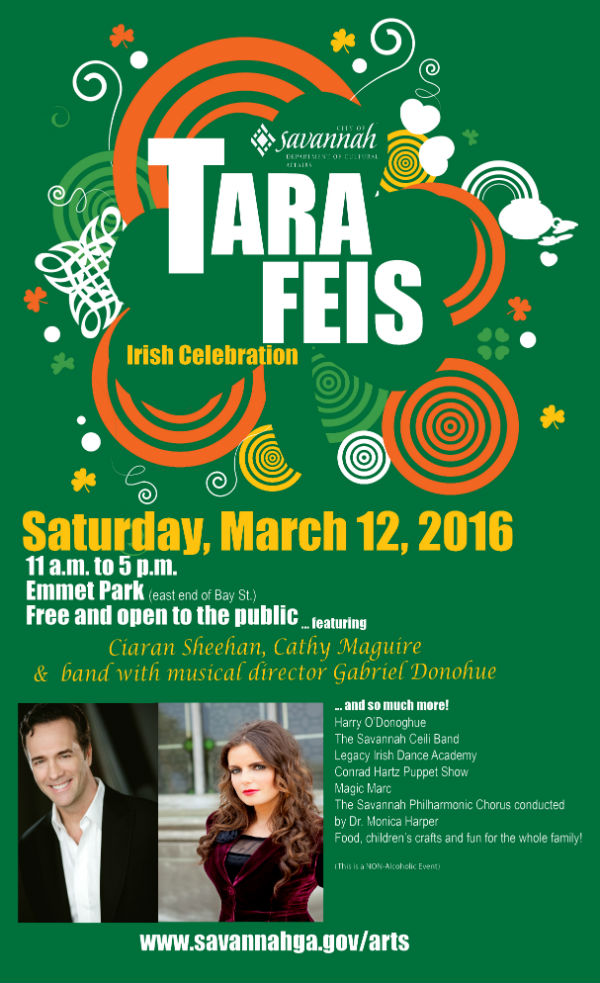 Tara Feis 2016 Savannah Irish Festival