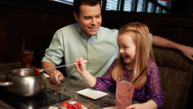 Daddy daughter Date nights Melting Pot Savannah