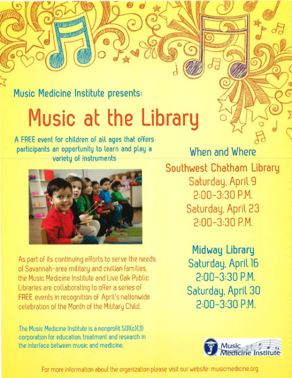 Free Music program for kids Savannah