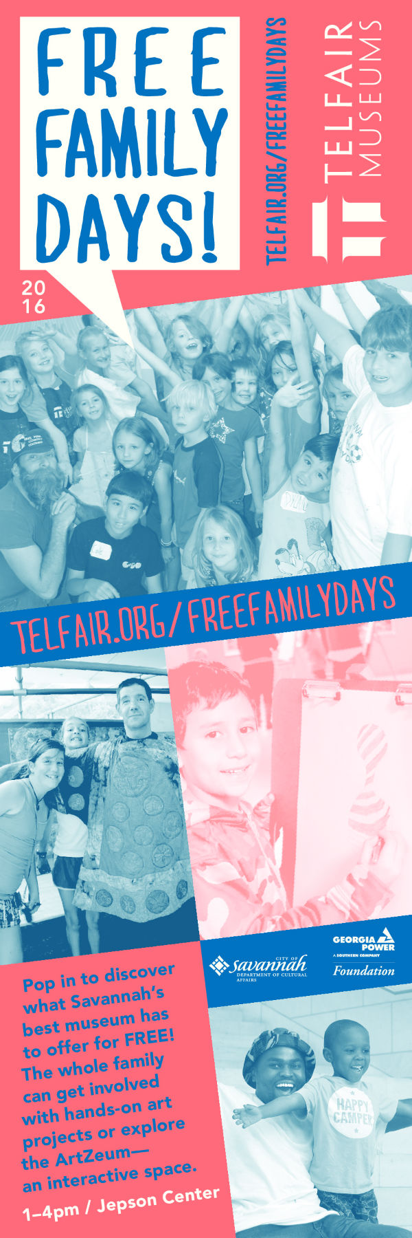 FREE Family Days Telfair Museums