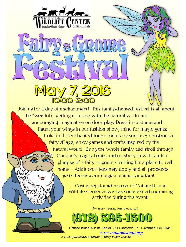Fairy Gnome Festival Savannah 2016