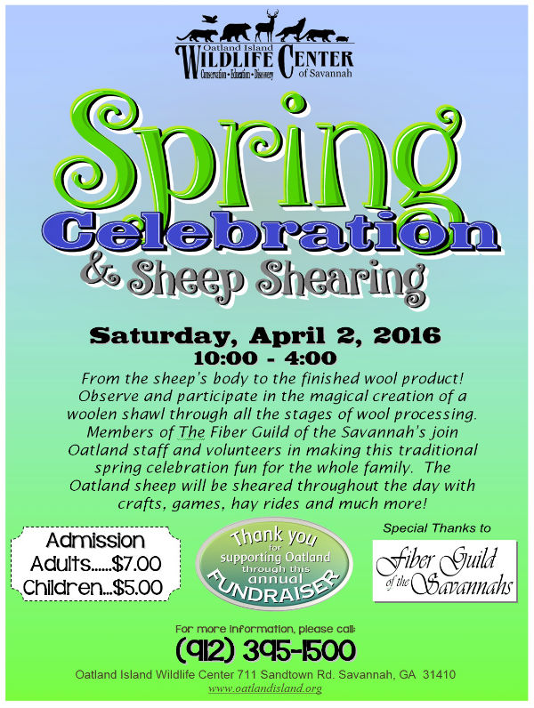 Spring Celebration Sheep Shearing 2016 Savannah