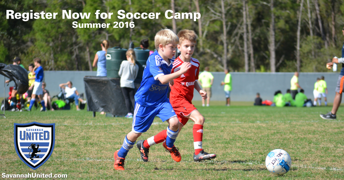 Savannah Soccer Summer Camps 2016