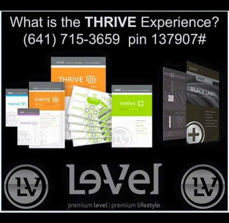 Le-Vel Thrive 8 Week experience