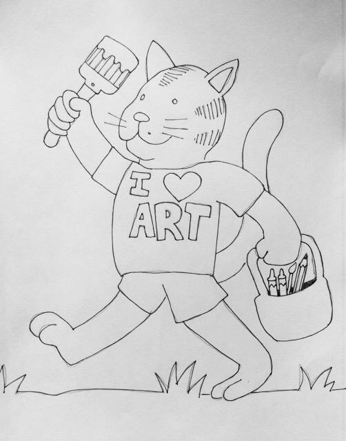 Art Camp Giveaway drawing contest Scribble Art Studio