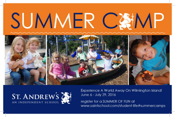 Summer Camps Savannah Wilmington Island St. Andrew's School