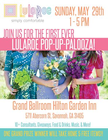Lularoe Pop-Up Palooza Savannah