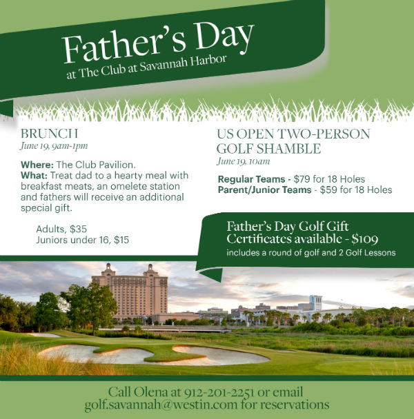 Fathers Day Golf GIft Special Savannah