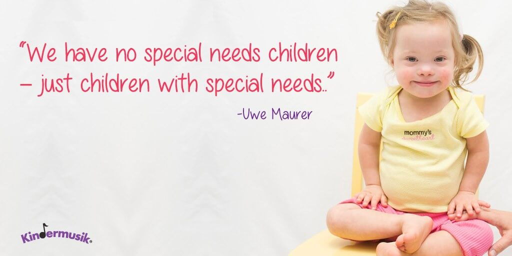 Kindermusik children with special needs autism Savannah