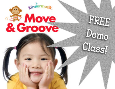 Move&Groove Kindermusik Savannah Mommy & Me