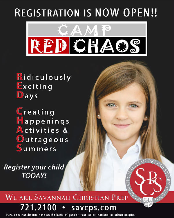 Savannah Summer Camps Red Chaos Savannah Christian