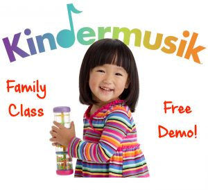 Kindermusik preschooler events Savannah classes