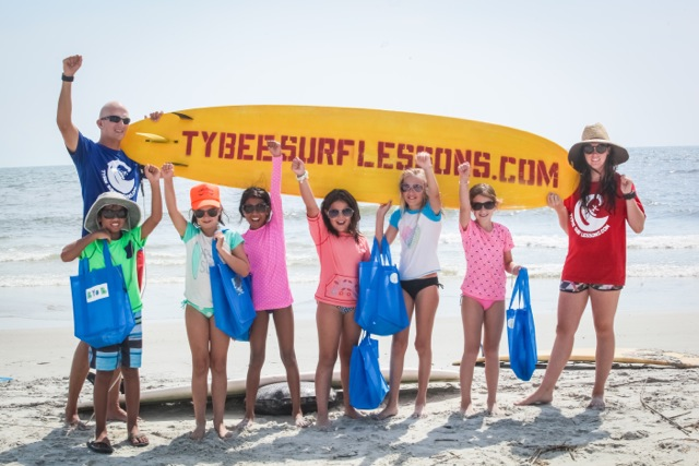 Tybee Surf Lessons Camp Savannah