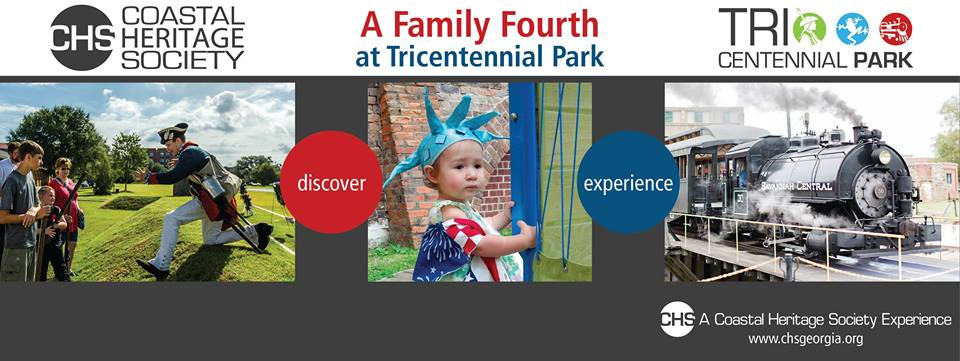 Fourth of July family Fun at Tricentennial Park Savannah