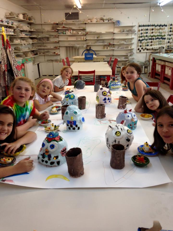Savannah Summer Camps 2016 Pottery Camp Clay Spot