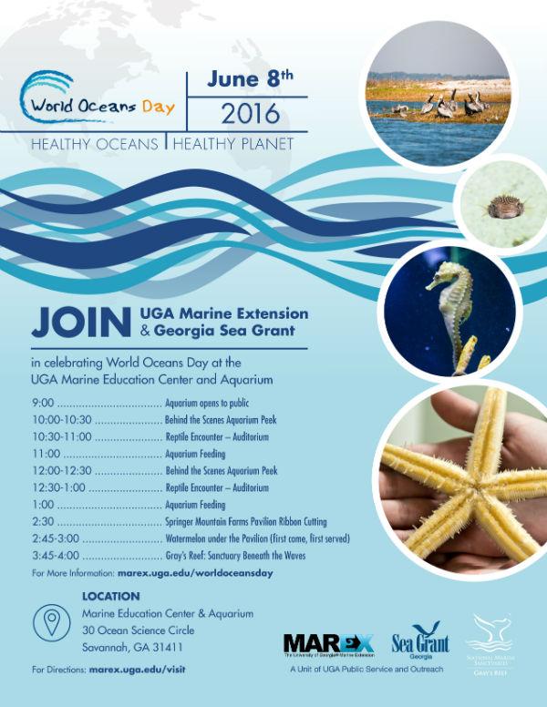 World Oceans Day Skidaway Aquarium