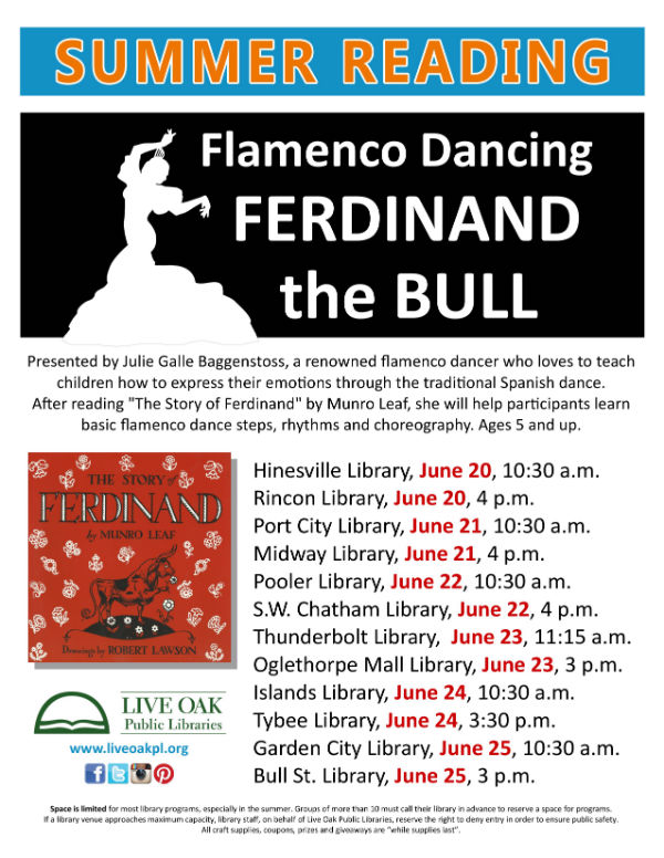 Free Flamenco Dancing event Savannah