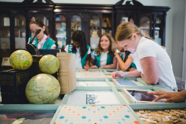 Juliette Gordon Low birthplace Girl Scouts visit Savannah