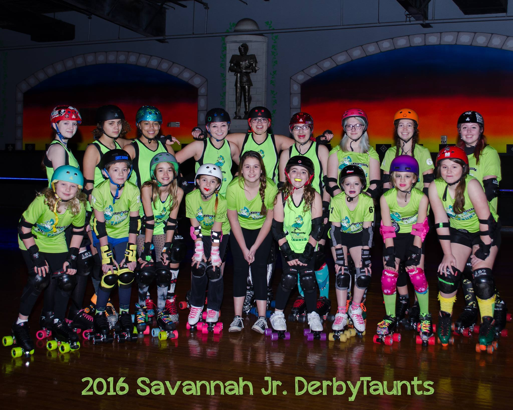 junior roller derby Savannah after school activities