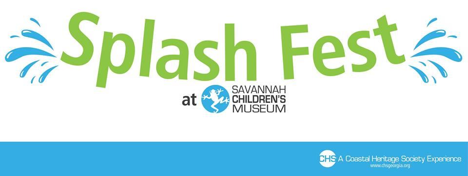 Splash Fest 2016 Savannah Children's Museum