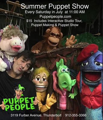 Puppet People Summer Puppet Shows 2016 Savannah