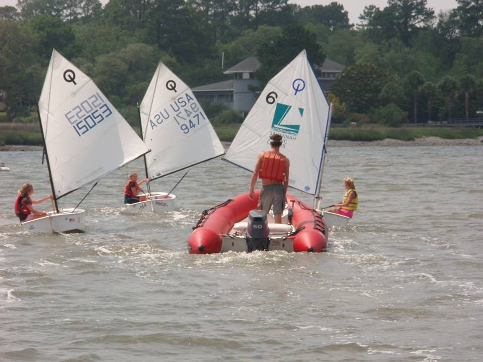 After-school sailing lessons Savannah