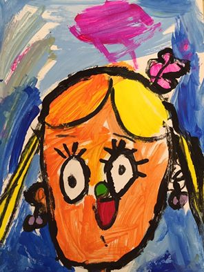 Preschooler art camp Scribble Savannah