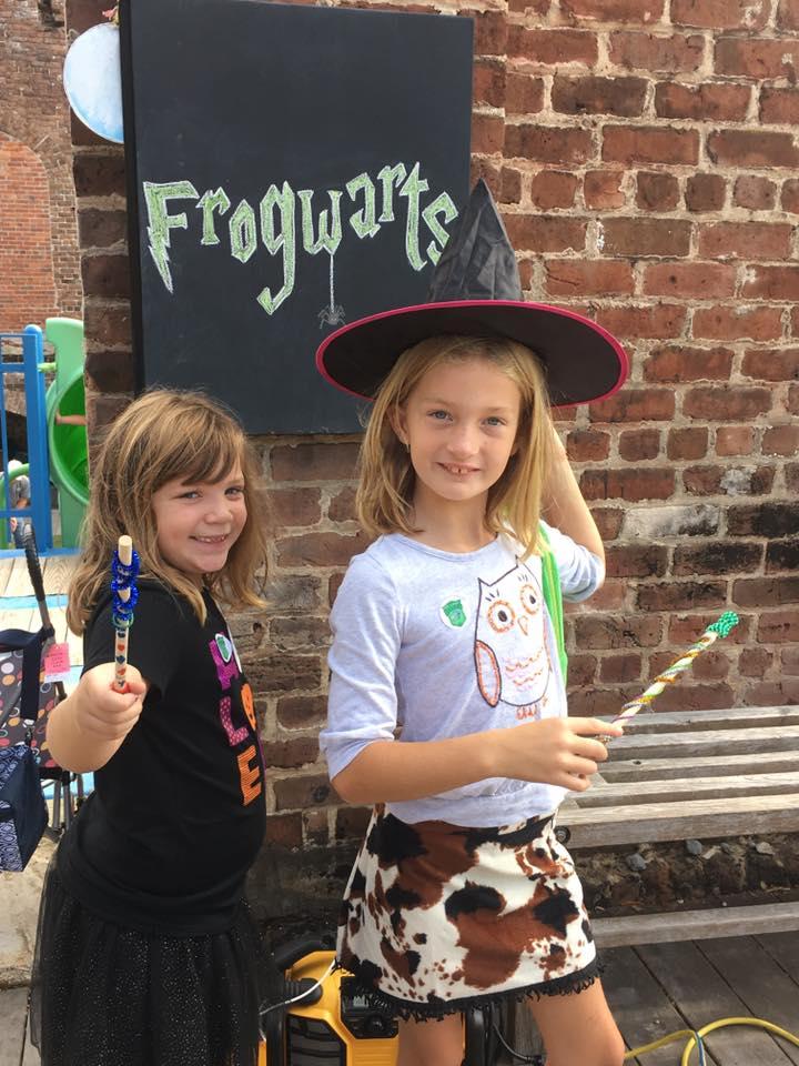 Frogwarts 2016 Savannah Hattie Francie Savannah Children's Museum Coastal Heritage Society